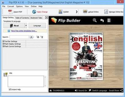 FlipBuilder Flip PDF v4.3.14 Multilingual