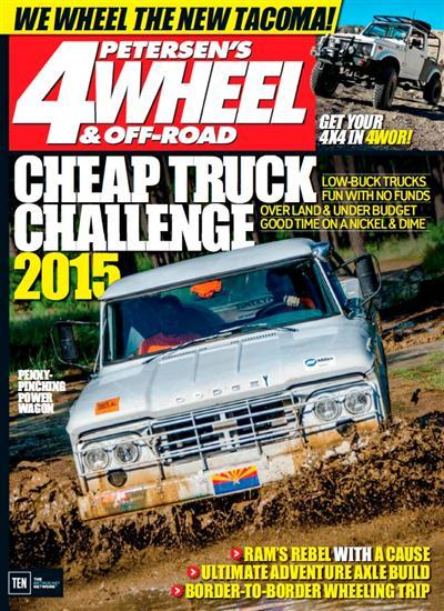 4-Wheel & Off-Road - January 2016