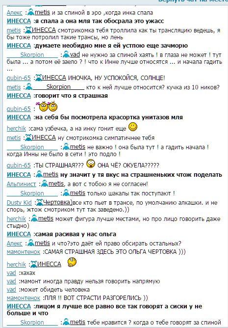 Чертовка), ИНЕССА