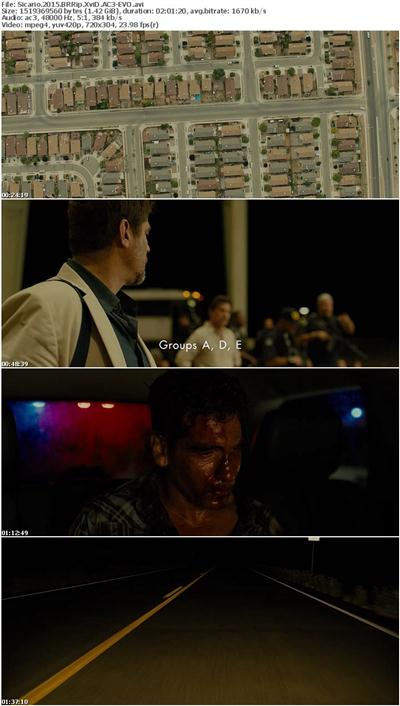 Sicario 2015 BRRip XviD AC3-EVO