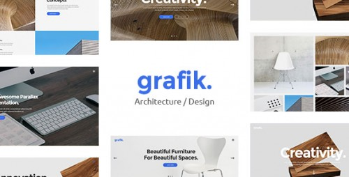 [NULLED] Grafik v1.1 - Portfolio, Design & Architecture Theme logo