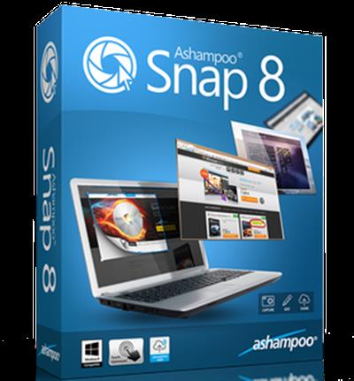 Ashampoo Snap 8.0.9 Multilingual Portable
