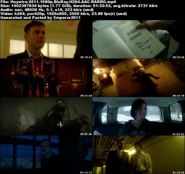 Haywire (2011) 1080p BluRay H264 AAC-RARBG