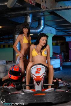 07-19 - Angelika Black, Aletta Ocean, Sorana, Mia Moon - Bumpher Cars