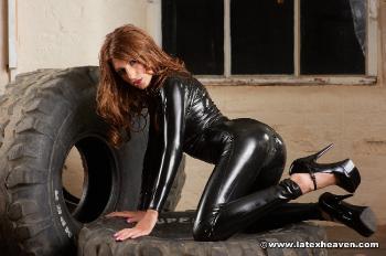 Black Catsuit - Jenny