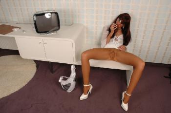 Pantyhose Party Girl RedOptics.com