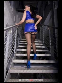 Blue Stairway Poser RedOptics.com