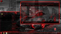 Тема для WIndows 7 - Red-Neon