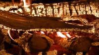 Музыкальный камин / HDScape: Fireplace - Visions Of Tranquility (2008) (BDRip-AVC 1080p) 60 fps