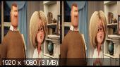 Монстры на каникулах 2 3D / Hotel Transylvania 2 3D (Лицензия) Горизонтальная анаморфная