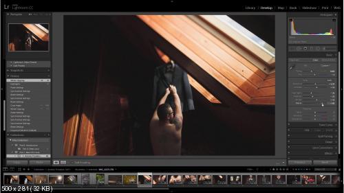 Обработка свадебных фотографий. Часть 1. Пленка