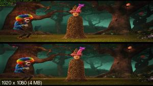 Монстры на каникулах 2 3D / Hotel Transylvania 2 3D   ( Лицензия by Ash61) Вертикальная анаморфная