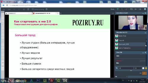 Майорова - Как стартовать в НЮ 2.0 (2015)