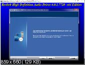 Realtek High Definition Audio Drivers 6.0.1.7720 Vista/7/8.x/10 WHQL