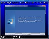 Realtek High Definition Audio Drivers 6.0.1.7727 Vista/7/8.x/10 + 5.10.0.7513 XP