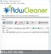 AdwCleaner 5.035 - уничтожение нежелательных панелей инструментов в веб-браузерах