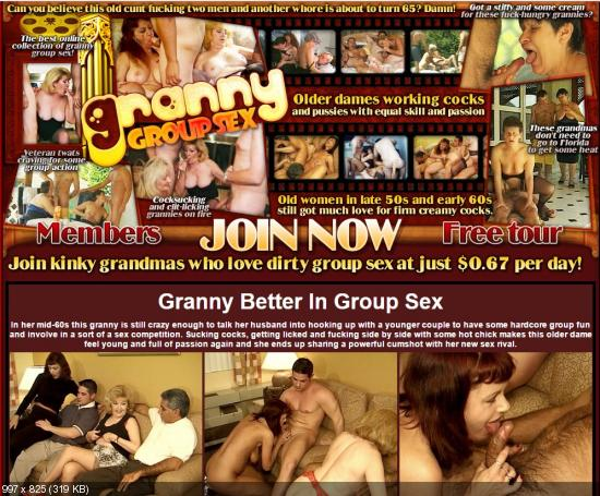 GrannyGroupsex – SiteRip