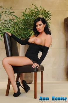 set031 Sexy Black Dress 16.10.14