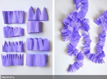 Цветы из гофрированой бумаги Cdd610efcc9e817db06649881101ec3a