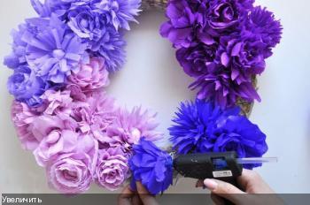 Цветы из гофрированой бумаги D4d760145f00e4cd0252a4956d521d3c
